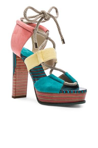 Suede Halley Heels