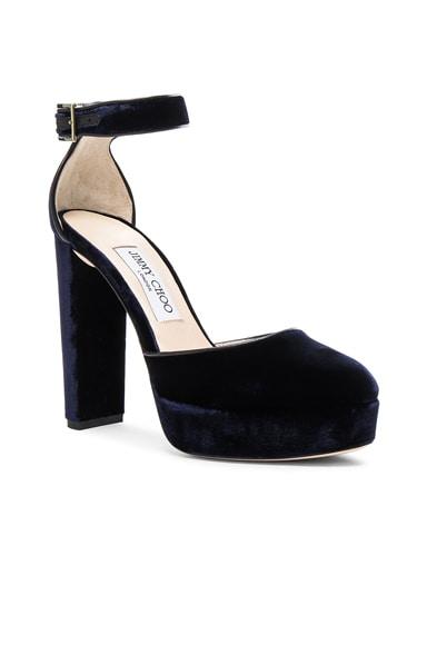 Velvet Daphne Heels