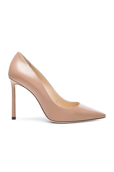 Jimmy Choo Leather Romy Pumps in Ballet Pink