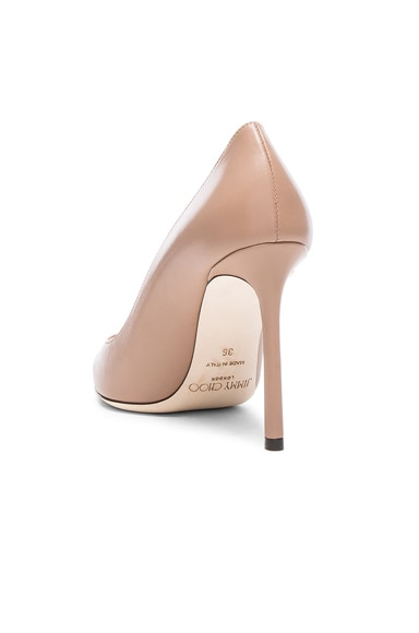 Leather Romy Pumps