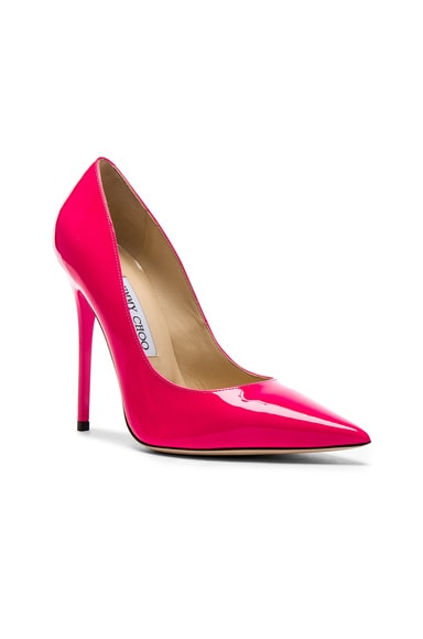 Neon Patent Leather Anouk  Heels