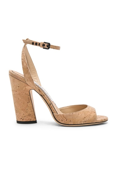 Miranda 100mm Cork Sandal