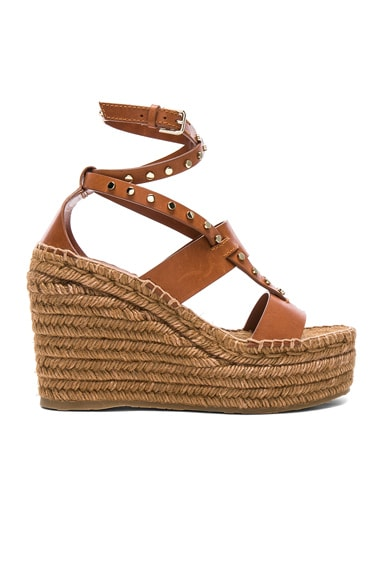 Leather Danica Wedges