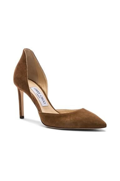Liz 100mm Suede Heel