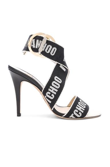 Leather Bailey 100 Heels