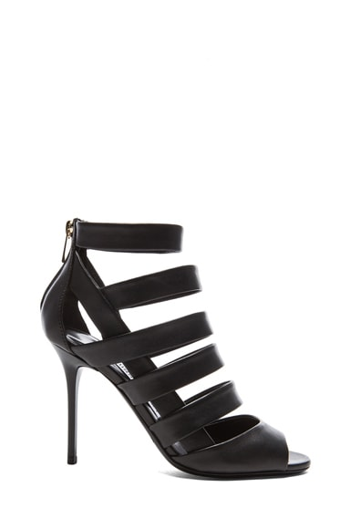 Dame Nappa Leather Heeled Sandals