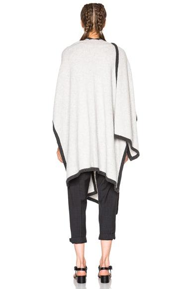Cashmere Binding Poncho