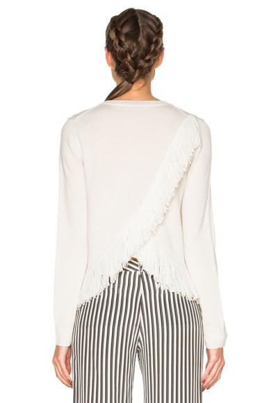 Cashmere Fringe Sweater
