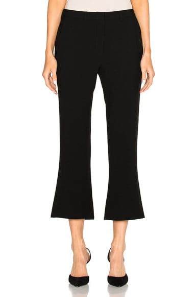 Jenni Kayne Cropped Flare Pants in Black