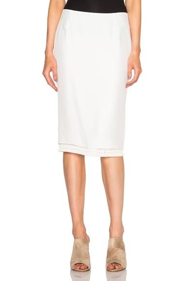 Jenni Kayne Pencil Skirt in Ivory