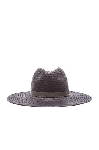 Janessa Leone Exclusive Gloria Hat in Charcoal