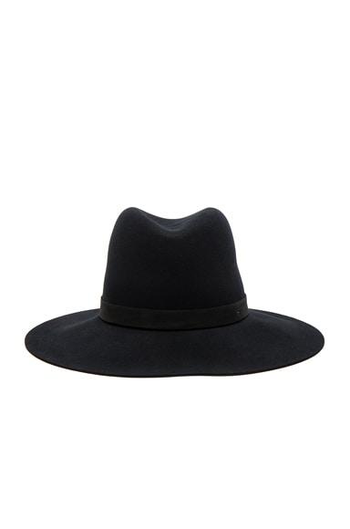 Janessa Leone Ila Hat in Black