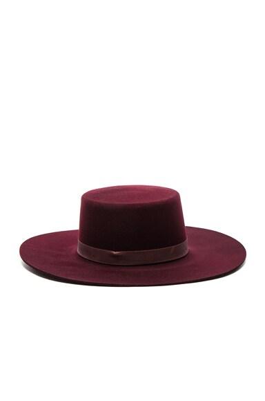 Janessa Leone Laurena Hat in Port