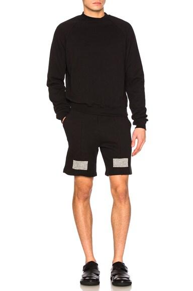 Paneled Shorts