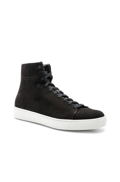 Leather Hi-Tops
