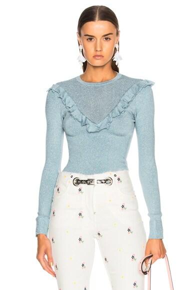 Bodycon Gunne Sax Lurex Sweater
