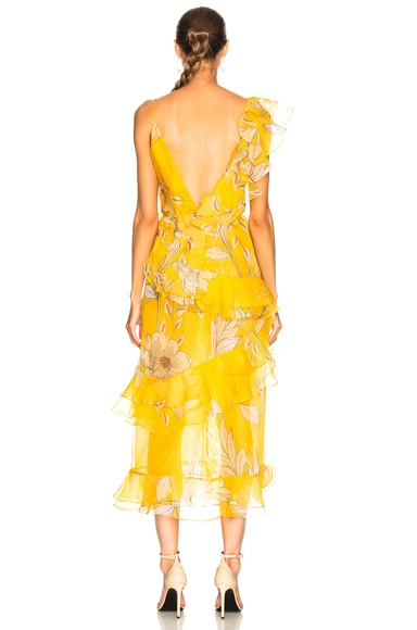 Sunlight Silk Organza Maxi Dress
