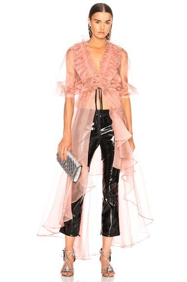 Tamarindo Silk Organza Dress