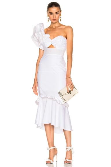 Maloka Cotton Poplin Dress