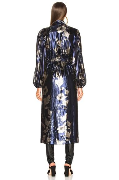 Wasai Lurex Crepe Kimono