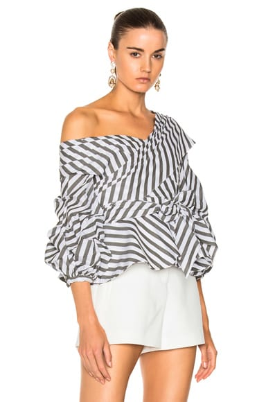 Santa Rosa Cotton Poplin Top