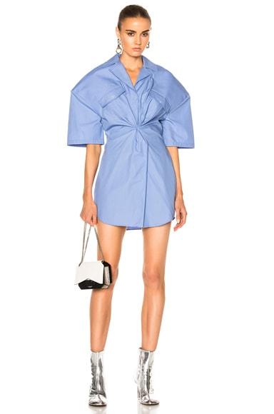 JACQUEMUS Uniform Dress in Sky Blue