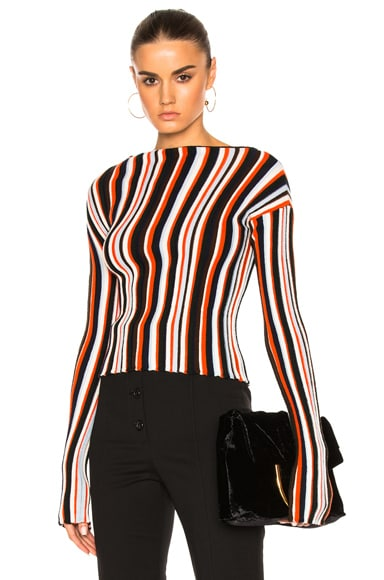 JACQUEMUS Striped Sweater in Multi