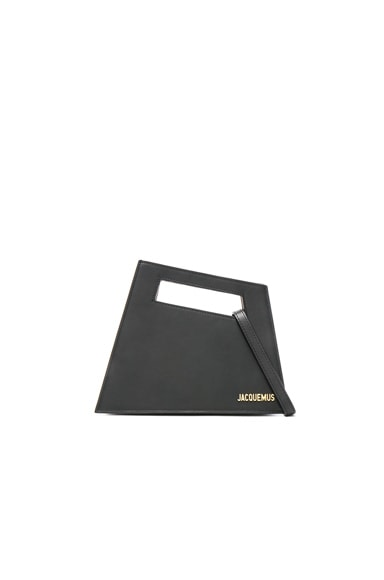 JACQUEMUS Small Tote in Black