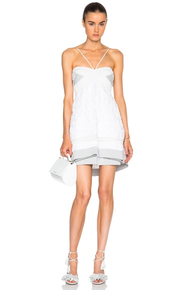 JONATHAN SIMKHAI Lielle Dress in White