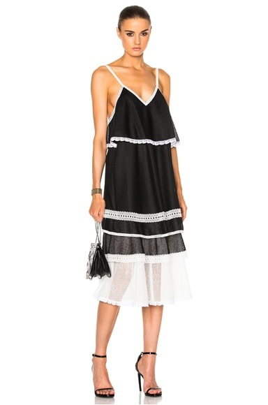 Voile Slip Dress