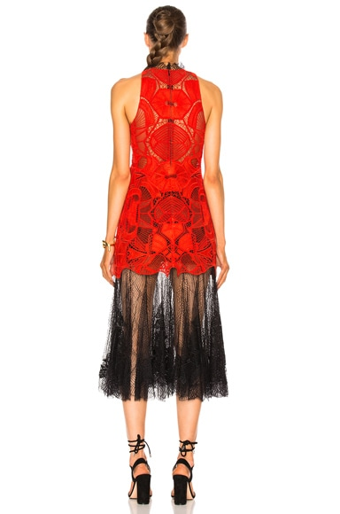 Dome Lace Corded Dress