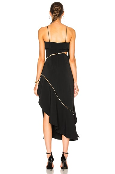 for FWRD Pearl Studded Dress