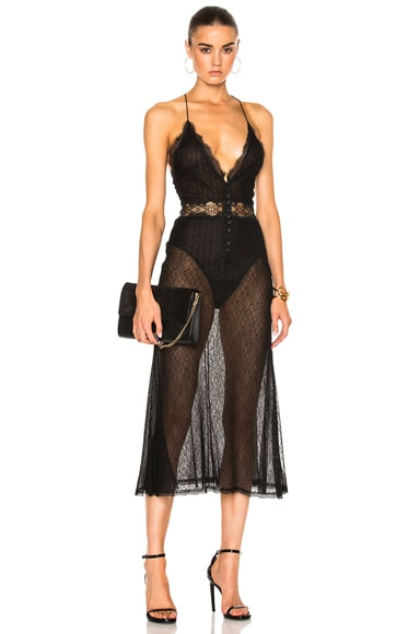 for FWRD Threaded Tulle Lace Dress