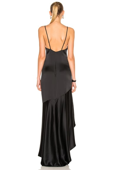 Silk High Low Gown