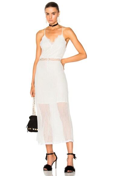 Threaded Tulle Lace Nightgown JONATHAN SIMKHAI