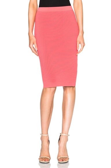JONATHAN SIMKHAI Pencil Skirt in Pink