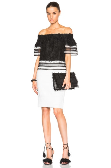 Bandage Scallop Skirt