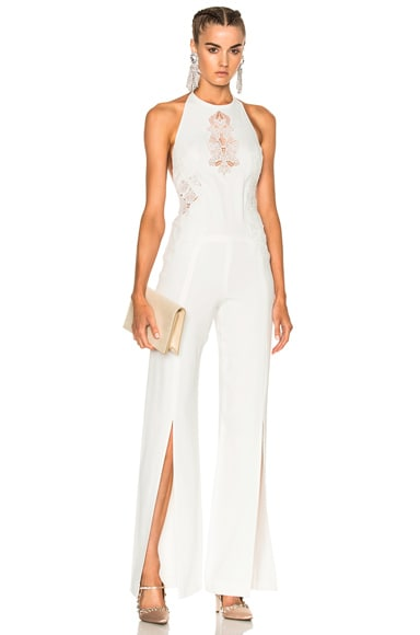 Multimedia Corded Jumpsuit