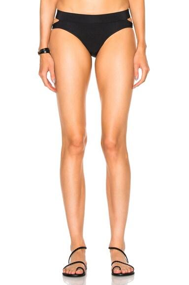 JONATHAN SIMKHAI Reversible Bikini Bottom in Black