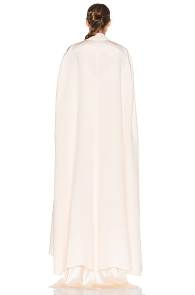Avalon Crepe Floor Length Cape