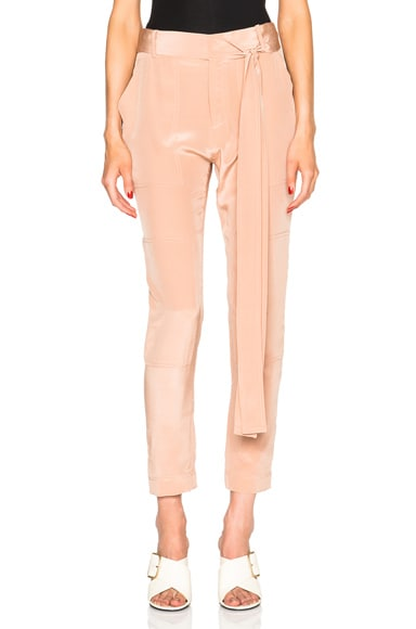 Juan Carlos Obando Poolside Tonka Trousers in Rose