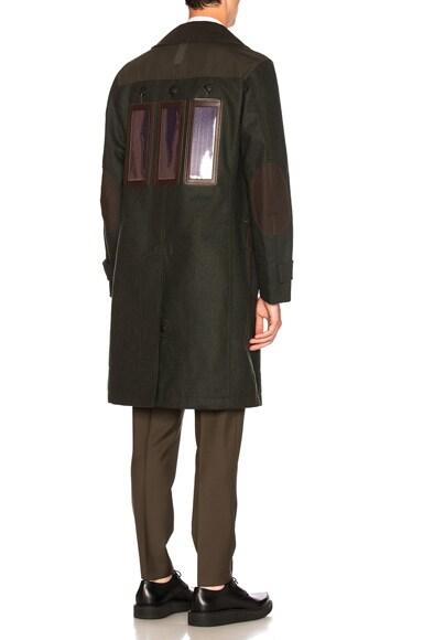 Junya Watanabe Solar Panel Coat in Khaki
