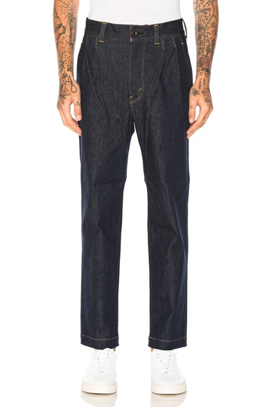 Junya Watanabe Cotton Denim Pants in Indigo