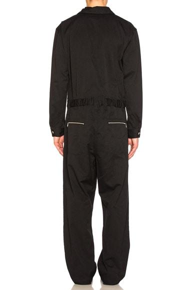 Cotton Polyester Herringbone Jumpsuit