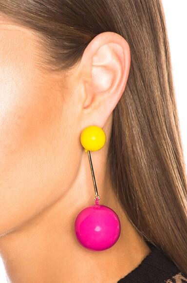 Sphere Drop Earring
