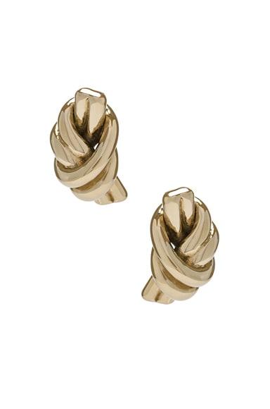 Metallic Knot Earrings