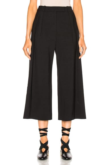 J.W. Anderson High Waisted Pant in Black