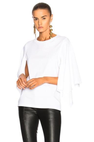 Asymmetric Drape T Shirt