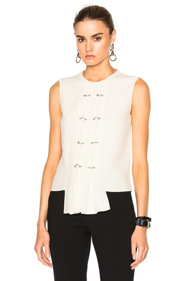 J.W. Anderson Sleeveless Panel Top in Off White