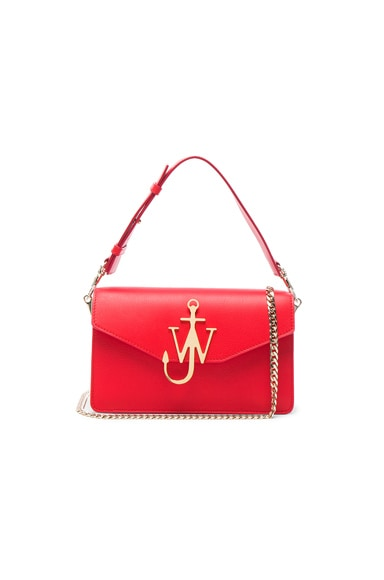 J.W. Anderson Logo Purse in Scarlet